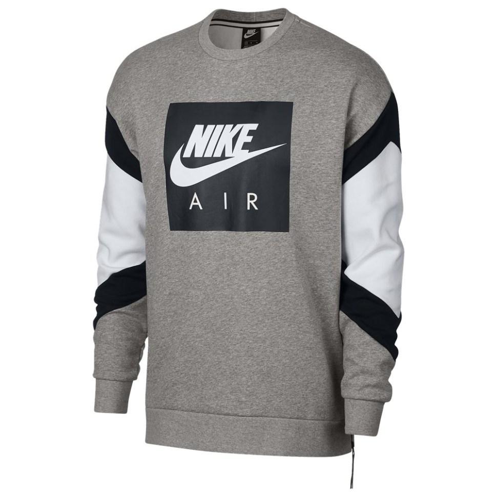 fcbfe54628a6d0 nike-air-fleece-crew-sweatshirt-grey-1