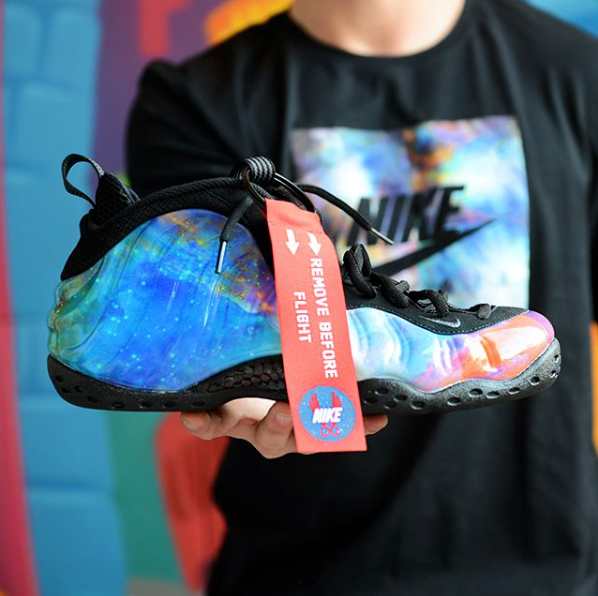 Nike Air Foamposite One Nrg GalaxyBump
