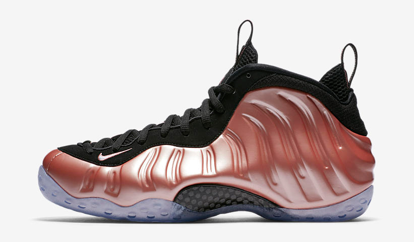 Nike Rust Pink Foamposites Clothing to