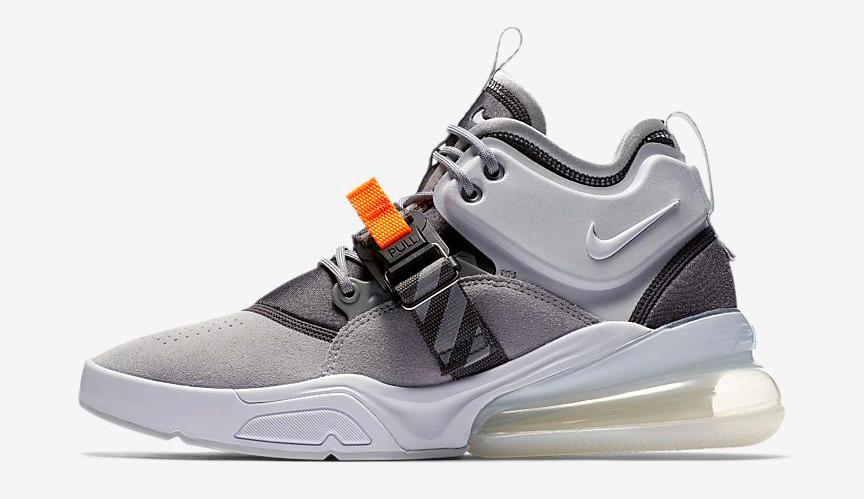 Nike Air Force 270 Wolf Grey Shirt Match  221876ccd