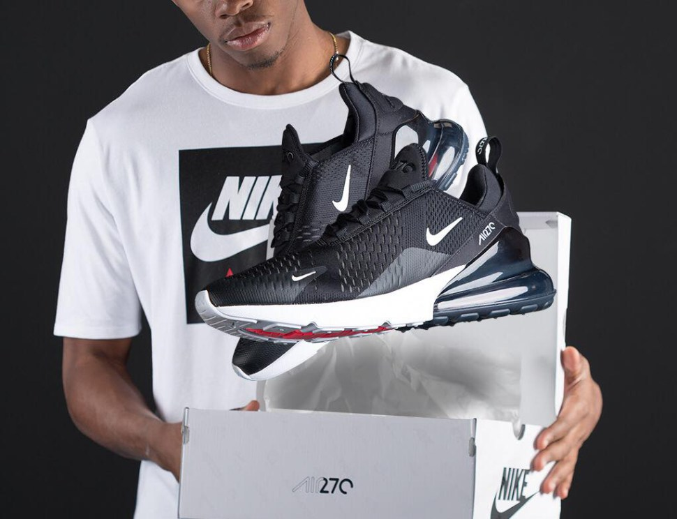 Nike Air Max 270 Black White And Shirt Match Sportfits Com