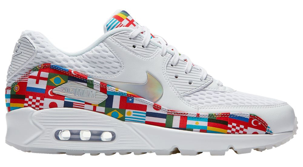 Nike One World Flag Sneakers and Clothing  