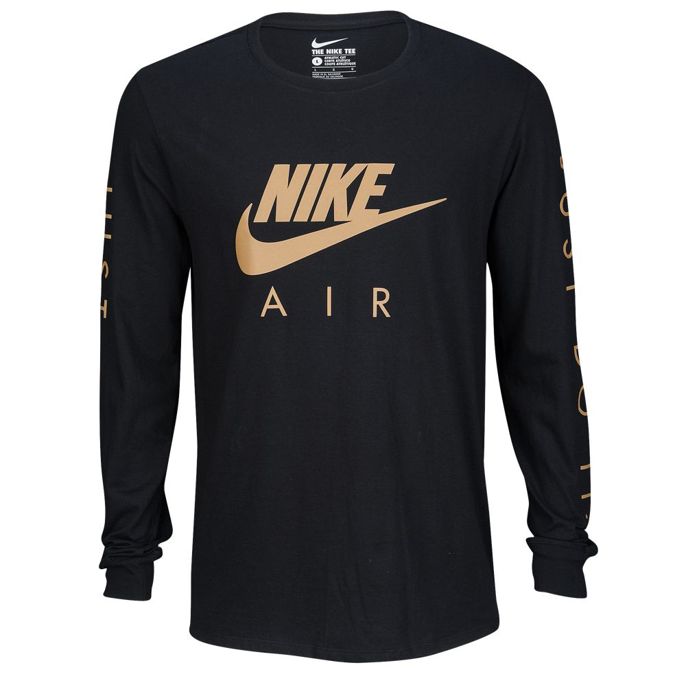 nike shirt gold