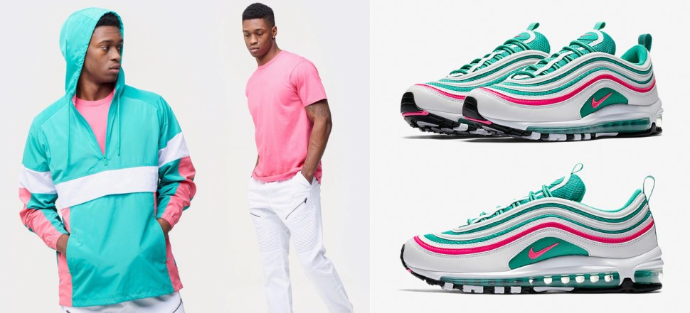 Air Max 97 South Beach Matching Clothing at Champs  a046a6692010