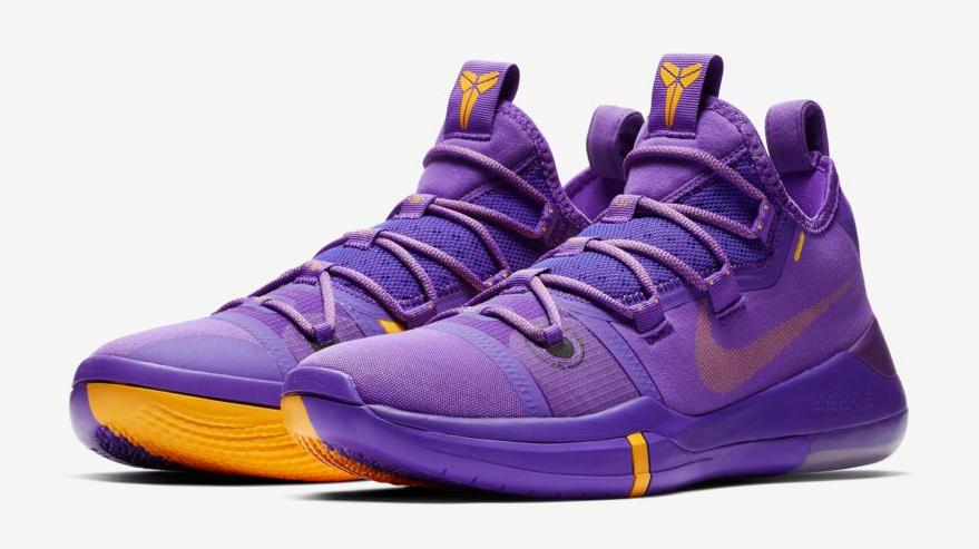 Nike Kobe AD Lakers Hyper Grape Purple