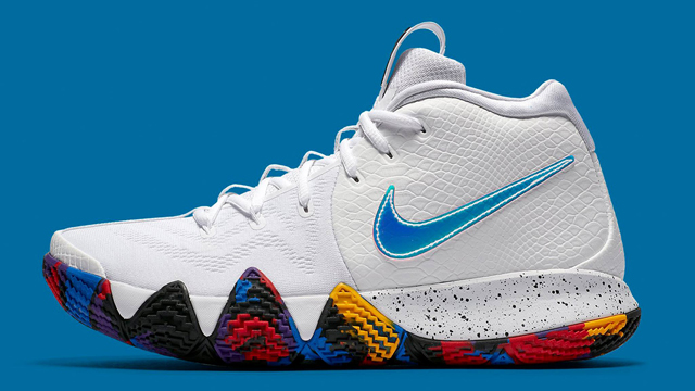 """buy online 382c5 650b1 Nike Kyrie 4 """"March Madness"""""""