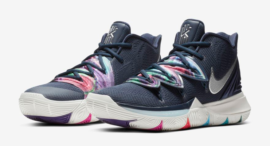df882e4510ee Nike Kyrie 5 Multi Color Galaxy Where to Buy