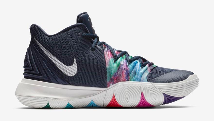 "new concept dfd86 cc52e Nike Kyrie 5 ""Galaxy"""
