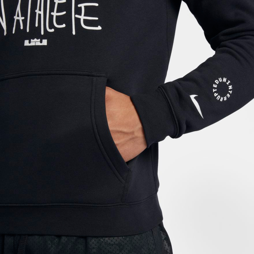 "ef40547a7fb75 Nike LeBron ""More Than An Athlete"" Hoodie"