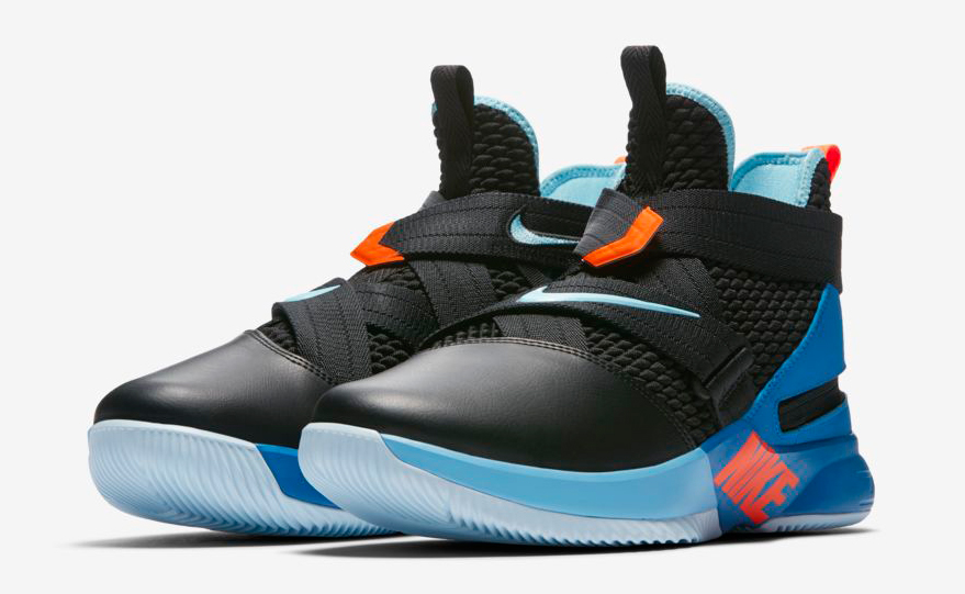 95122ca9544 coupon for nike lebron soldier 12 flyeease black battle blue 30039 f59ff