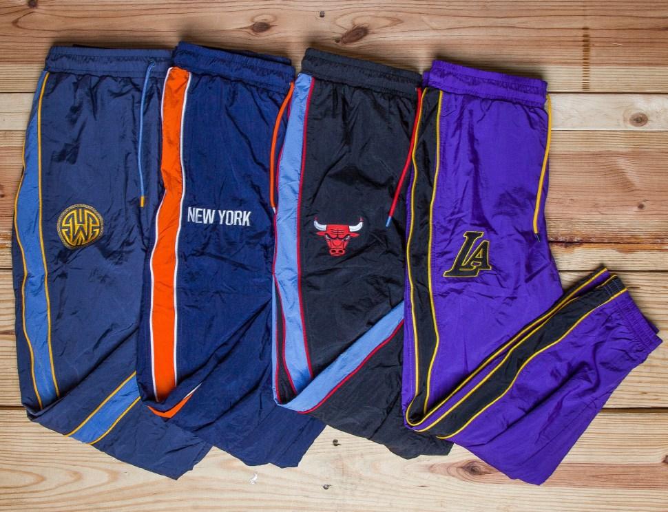 1aa43af11 Nike NBA Courtside City Edition Nylon Pants