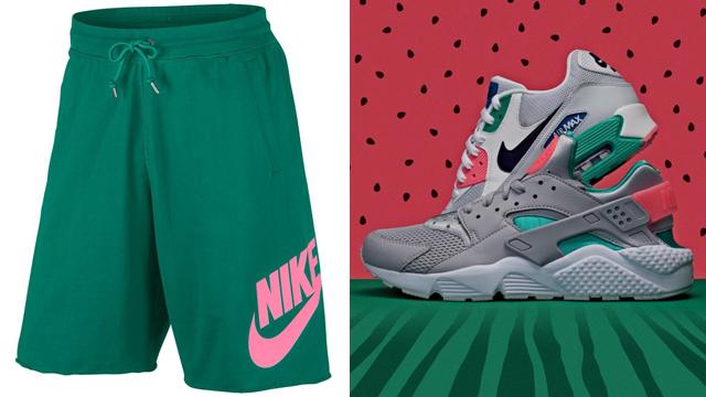 "73554097 Nike Sportswear GX Alumni Shorts to Match the Nike Air ""Watermelon"" Pack"