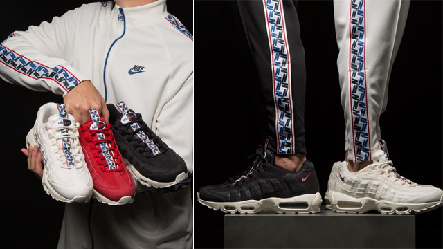 e250ee2171b Nike Sportswear Taped Collection (Air Max 95 + Nike Taped Track Jackets and  Track Pants)
