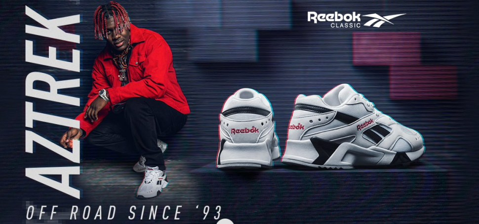 46a4197d4426f9 Reebok and Lil Yachty Bring Back the Aztrek Retro Running Shoe ...