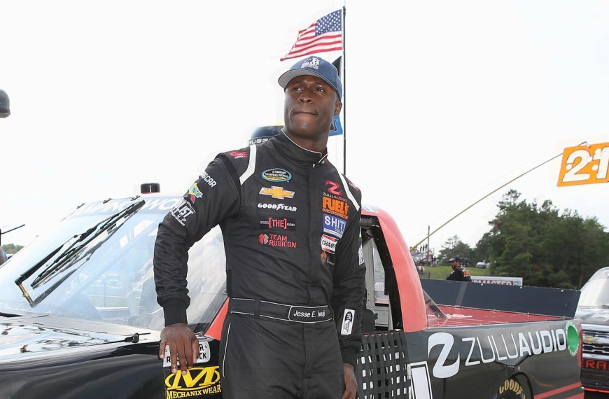 NASCAR Driver, Jesse Iwuji, Shares His Incredible Story of Vision & Determination!