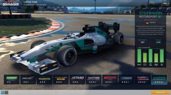 Скриншоты игры Motorsport Manager