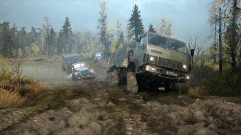 Скриншоты игры Spintires: MudRunner