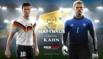 Легенды футбола Лотар Маттеус и Оливер Кан появятся в PES 2018