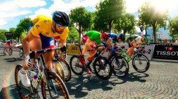 Скриншоты игры Tour de France 2018