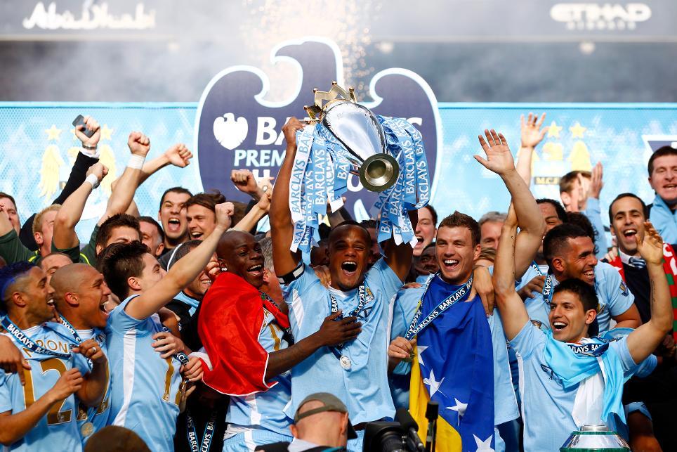 Man City 2012