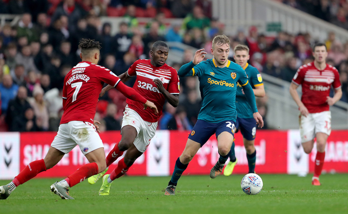 Middlesbrough v Hull City - Sky Bet Championship - Riverside Stadium