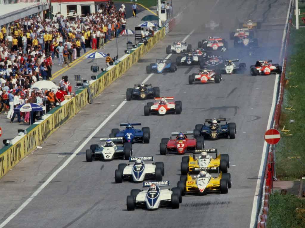 1982 Austria Start