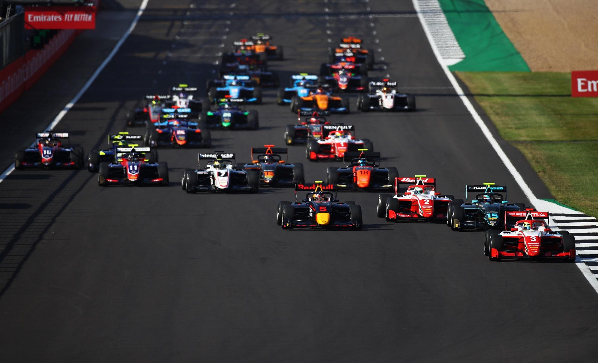Formula 3 Championship - Round 5:Silverstone - First Race