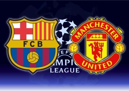 Barcelona dan Manchester United difavoritkan masuk final Liga champions.