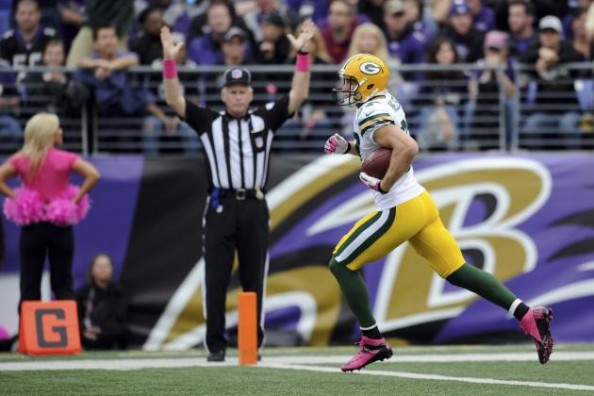 Jordy Nelson e1381752534957 Green Bay Packers   Aaron Rodgers Forced to Change