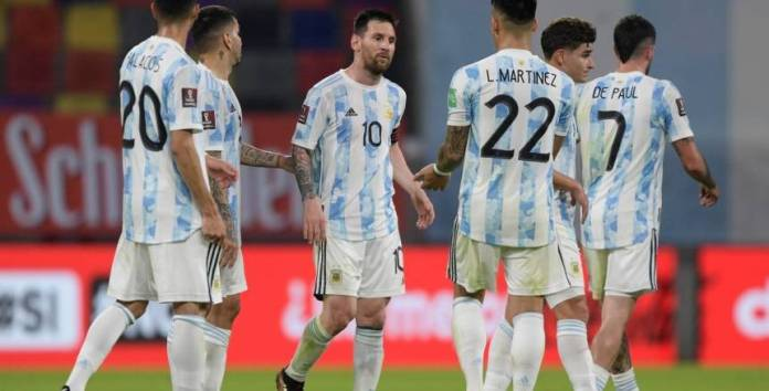 Today's matches in Copa America .. a fiery clash between Argentina and Chile