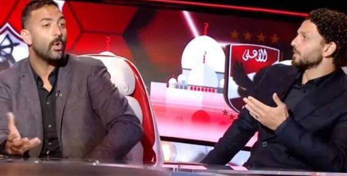 Because of Ramadan Sobhi .. Mido wins the bet with Hossam Ghaly (video)