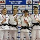 Judoka Alexandra Pop a câștigat medalia de aur la Belgrad
