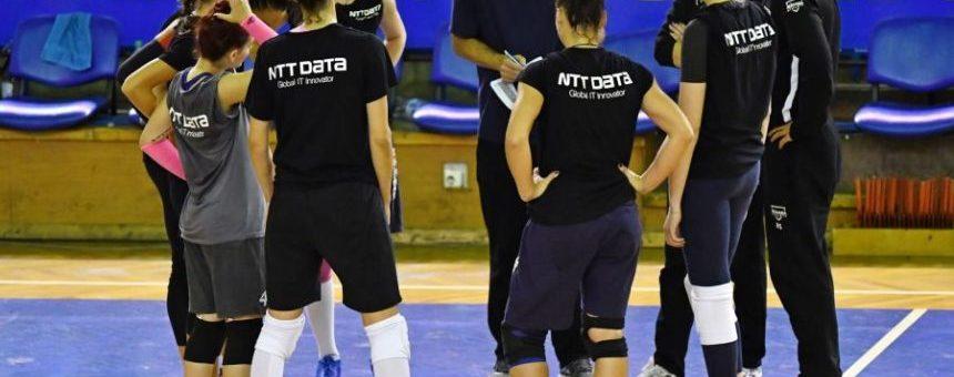 Volei feminin: Medalii de bronz pentru U NTT Data la ultimul turneu amical