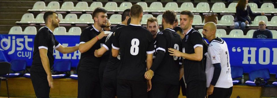Volei masculin: Universitatea Cluj joacă în deplasare la Timișoara