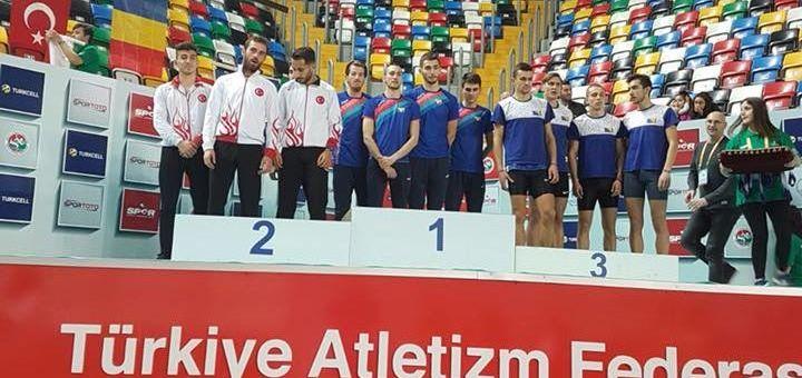 Atleții Universității Cluj au câștigat trei medalii de aur la Campionatul Balcanic din Turcia