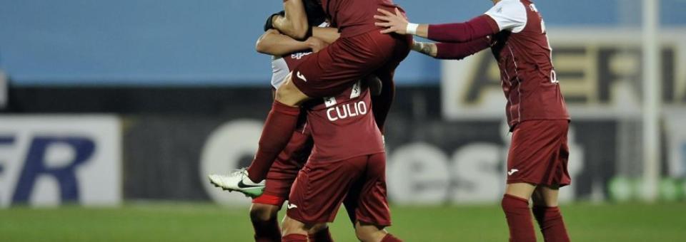 CFR Cluj a câștigat meciul cu Astra Giurgiu. REZUMAT VIDEO