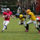 Fotbal american: Cluj Crusaders a învins Mureș Monsters
