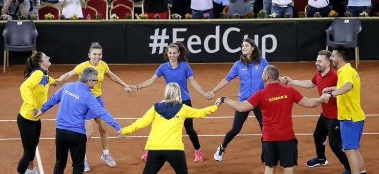 Fed Cup: România învinge Elveţia şi e între cele mai bune opt echipe din lume