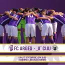 FC Universitatea Cluj, înfrântă la Pitești