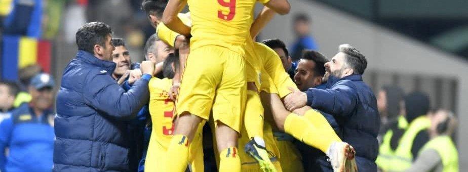 Naționala de tineret a României s-a calificat la Euro