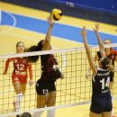 Volei feminin: U NTT Data va juca acasă cu CSM Lugoj