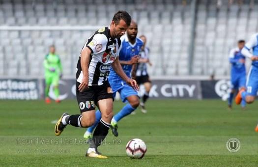 FC Universitatea Cluj joacă în Vinerea Mare cu Ripensia Timișoara
