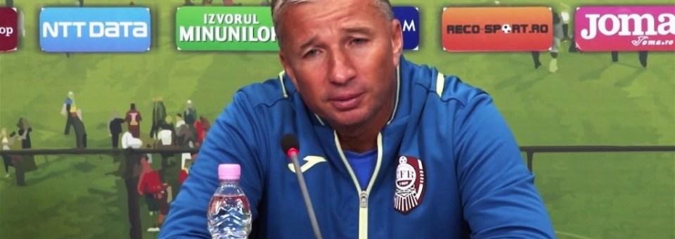 Înaintea meciului cu FC Sevilla, Dan Petrescu critică din nou regula U21