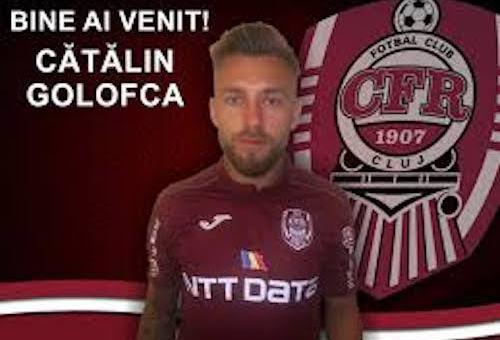 CFR Cluj, somată să plătească banii pentru transferul lui Golofca