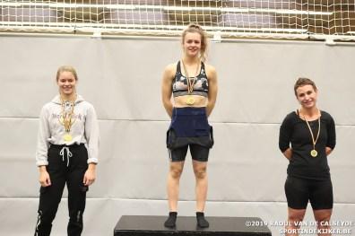 podium dames -55kg