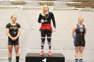 podium dames -84kg