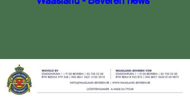 PERSBERICHT: Waasland-Beveren verrast supporters in zorgsector