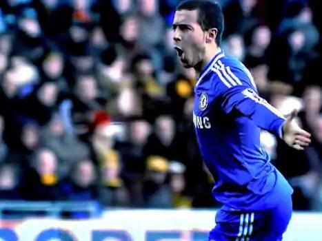 Eden Hazard Chelsea forward