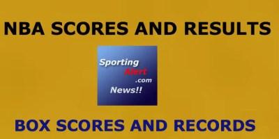 NBA Games, Score Box