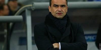 Roberto Martinez - Everton manager